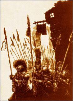 The Alcatani Fellowship Warhammer Empire, Warhammer Art, Warhammer Fantasy Roleplay, Flame Princess, Fantasy Battle, Sword And Sorcery, Fantasy Setting, Military Art, Concept Art