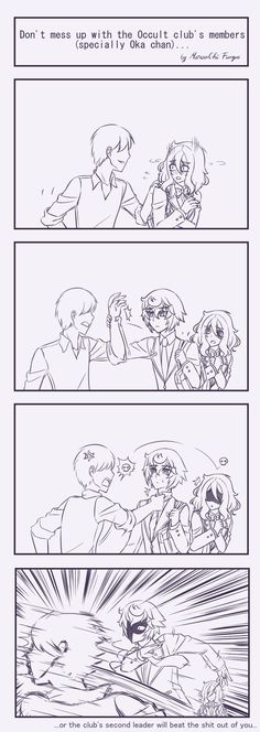 Don't mess up with the Occult club's member... by MuroaChiFungus
