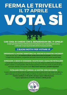"""Rognoni Ismaele su Twitter: """"Referendum sulle trivelle. Io voto SI per difendere il mio territorio e la natura! #leganord #salvini @StopTrivelle…"""