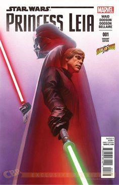 Star Wars : Princess Leia #1 cover by Alex Ross