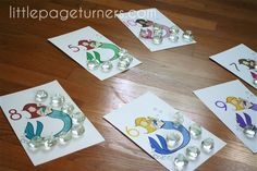 Little Page Turners: Mermaid Counting