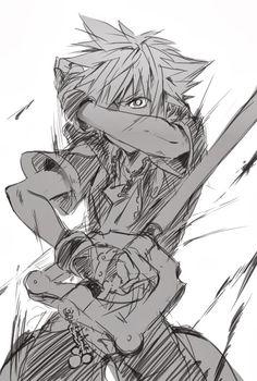 Sora- I won't give up on u Kairi Kingdom Hearts 3, Kingdom 3, Cry Anime, Anime Manga, Anime Art, Sora And Kairi, Heart Sketch, Girls Anime, Shall We Date
