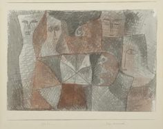 Klee, Zage beieinander (Timid ones together), 1932