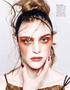 Vogue Japan April 2015 | Hedvig Palm by Kenneth Willardt [Beauty]