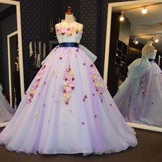 Yohco. リクエストいただき2色のオーガンジーを重ねて出したお色味取り外し式のオーバードレス仕様にもお仕立て可能 #カラードレス #オーバードレス #ボリュームドレス #花びらドレス #パープル #ミクちゃんコール #petaldress  #NOVLEAF #ノーヴェリーフ #weddingdress #ウェディングドレス #madetoorder #オーダーメイド #オーダー #フルオーダー #お仕立て #dress #ドレス #ウエディングドレス #カーラーミックスドレス #ウェディング  #アトリエ #グラデーションドレス #fashion #girl  #花嫁 #bride #写真#ブルードレス #bluedress by novleaf