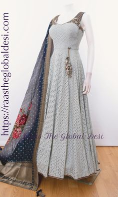 Shop premium range of Anarkali gown online USA,Indian clothes online, Indian dresses and Indian Gowns Dresses, Indian Fashion Dresses, Dress Indian Style, Indian Outfits, Indian Wear, Puffy Dresses, Brocade Dresses, Long Dresses, Evening Dresses
