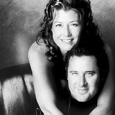Amy Grant and Vince Gill