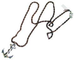 Mens anchor necklace - Maiden-Art  - 1