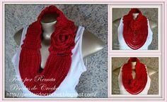 * Pérolas do Crochet: Gola em croche