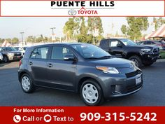 2013 *Scion*  *xD* *Base*  34k miles Call for Price 34715 miles 909-315-5242 Transmission: Manual  #Scion #xD #used #cars #PuenteHillsToyota #CityofIndustry #CA #tapcars