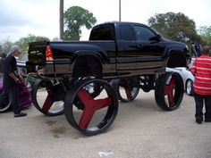 10 Craziest Donk Cars We Have Ever Seen – Modern Jacked Up Trucks, Big Trucks, Chevy Trucks, Pickup Trucks, Custom Trucks, Custom Cars, Old American Cars, Donk Cars, Engin