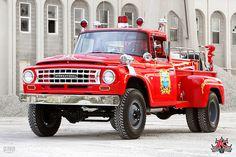 Vintage International Fire Truck by akreone on Flickr.