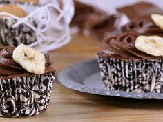 Cupcakes de banana y chocolate. Alma Obregon