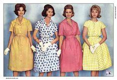 """Résultat de recherche d'images pour """"vêtements années 60 femme"""""""