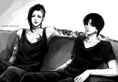 Hunter x Hunter // Chrollo Lucifer Tokyo Ghoul // Utta