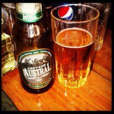 """Cerveza artesanal Austral, """"Donde Augusto"""" Santiago de Chile"""