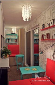 Квартира для семейной пары, Татьяна Пичугина, Лоджия/Балкон, Дизайн интерьеров Formo.ua