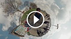 Video a 360° usando 6 GoPro