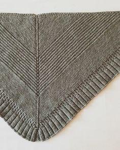 Cozy shawl knit in Valley Yarns Northampton yarn. >> Ravelry: Chevron Shawlette pattern by Tia Stockton