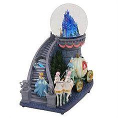 Cinderella Staircase Snowglobe