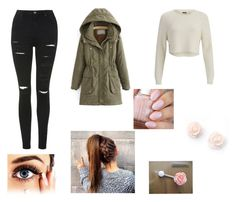 """Untitled #235"" by girlygirldreamsx ❤ liked on Polyvore featuring moda, Topshop, 2NDDAY e JVL"