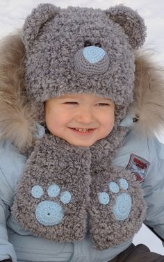 Kniting Teddy Bear Hat - Hat Character - Boy hat - Teddy Bear Beanie  - Best Teddy Bear - Animals hats - Teddy Hat - Winter hat - Warm hat by MeetBestKnit on Etsy https://www.etsy.com/listing/206553924/kniting-teddy-bear-hat-hat-character-boy
