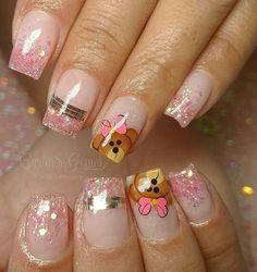 Cute Nail Art, Cute Nails, Beauty Make Up, Hair Beauty, Magic Nails, Perfect Nails, Christmas Nails, Nail Art Designs, Bride Nails