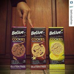 Os Cookies Belive são sem glúten e sem lactose, além de saborosos e crocantes! Compre on-line no Empório Ecco:  www.emporioecco.com.br