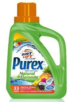 Purex Natural Elements Tropical Splash {Review} #PurexNaturalElements (& Giveaway Ends 4/24)