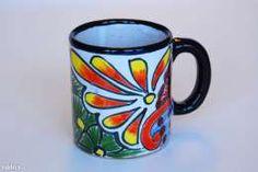 KUBEK ręcznie malowany (oryginalna ceramika meksykańska) Mugs, Tableware, Dinnerware, Tumblers, Tablewares, Mug, Dishes, Place Settings, Cups