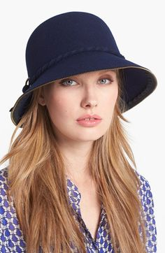 30712537b54 San Diego Hat Zip Edge Cloche available at  Nordstrom  Stuff  Ladies   TheBest
