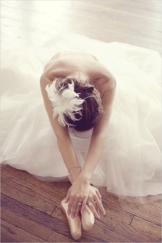 Ballet. Working 7 hours a week to become this girl
