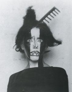 Man Ray - Bronislava Nijinska, 1922