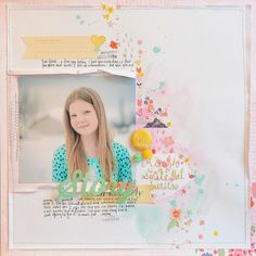 Lisa says: beautiful layout and colors!  iheartblog - a laugh is a smile that bursts