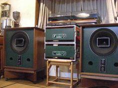 Altec – Not Sure – Audioroom Polk Speakers, Built In Speakers, Hifi Audio, Stereo Speakers, Altec Lansing, Audio Design, Audio Room, Speaker Stands, High End Audio