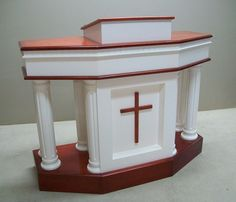 This company claims to be able to custom wire the pulpits for any electronics you would need