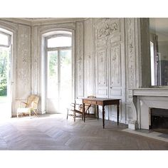 my french country home ❤ liked on Polyvore featuring home, home decor, backgrounds, rooms, pictures, empty rooms, interiores, french country wall art, heart picture and french country home decor