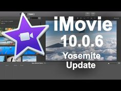 iMovie 10.0.6 Yosemite Update - New Features | No adjustment panel See icons above preview window in your project | Share button is above these adjustments (on the right) or go to File + Share | File + New App Preview | More Export options effecting movie quality | Export Audio only | Export Image Frame || YouTube