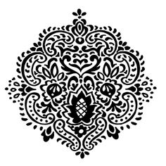 Stampendous Cling Stamp, Desert Star - for etching