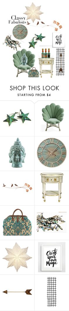 """""""Classy and Fabulous"""" by tol-n-tique on Polyvore featuring interior, interiors, interior design, home, home decor, interior decorating, Surya, Pier 1 Imports, Cultural Intrigue and WALL"""