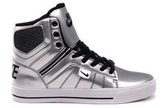 Yes, please.  Nike Supra High Shoes Silver Black