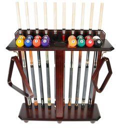 Cue Rack Only 10 Pool  Billiard Stick