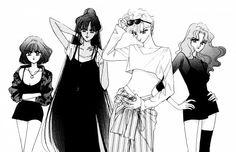 Naoko Takeuchi, Toei Animation, Bishoujo Senshi Sailor Moon, Haruka Tenoh, Michiru Kaioh