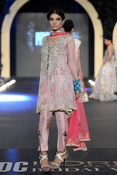 Zara Shahjahan https://www.facebook.com/zarashahjahan Pakistan at PFDC L'Oreal Bridal Week (Oct) 2013