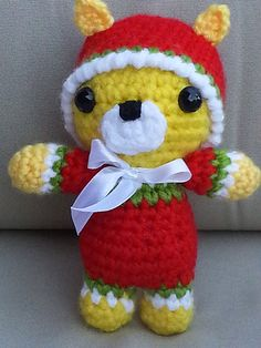Amigurumi baby cat Tiny amigurumi crochet by HANDMADEONLYFORYOU