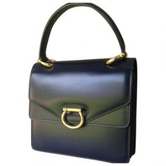 Buy your blue leather handbag CÉLINE on Vestiaire Collective, the luxury consignment store online. Second-hand Blue leather handbag CÉLINE Blue in Leather available. Celine Handbags, Celine Bag, Vintage Bags, Vintage Handbags, Vintage Items, Medium Bags, Leather Bag, Bag Design, Purses