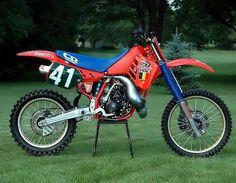 HONDA RC 250 M Eric GEBOERS 1987