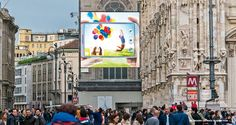 #Milan #maxibillboard #urbanvision #ooh