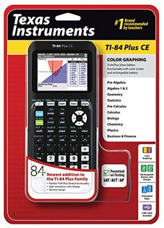 Texas Instruments TI84 Plus CE Graphing Calculator Black ** You can get more details by clicking on the image.