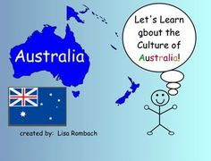 Learn about Cultures, Australia,  SmartBoard Lesson for Primary Grades (.notebook file) $